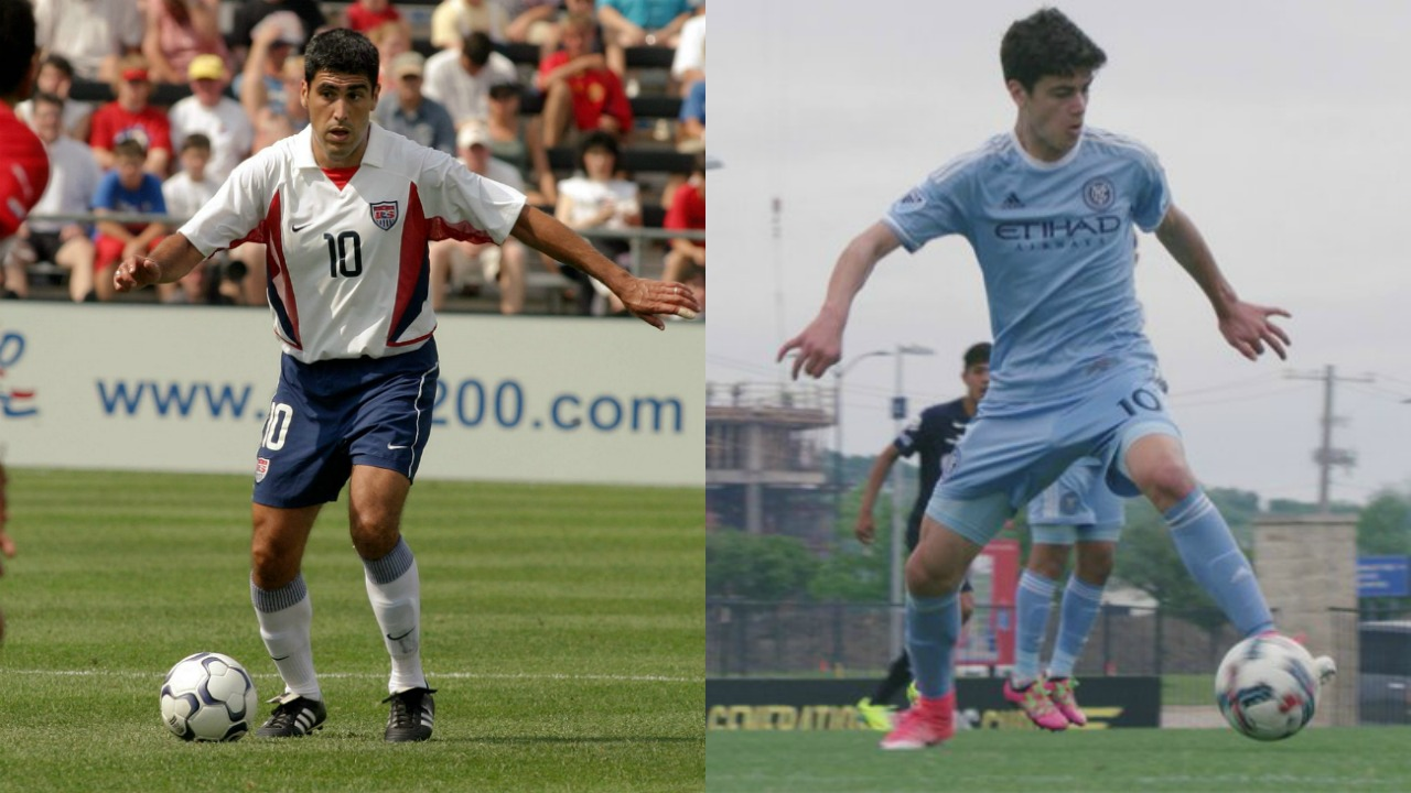 Giovanni Reyna Son Of Claudio Reyna Is A Talented 14