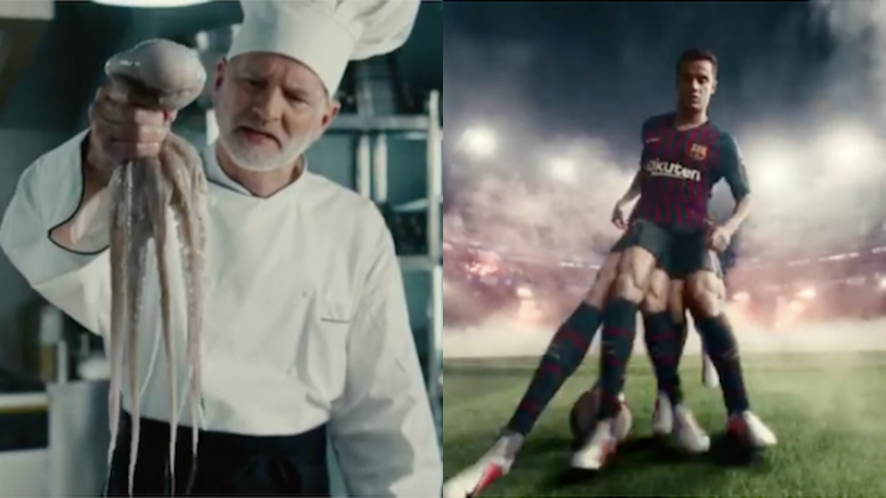 detailed look fantastic savings authentic Nike Phantom Ad Features Philippe Coutinho And Music From ...