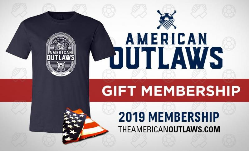USWNT Gear: American Outlaws Membership