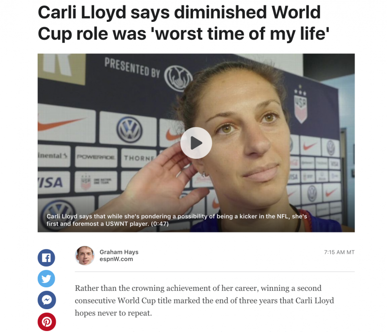 Carli Lloyd Podcast