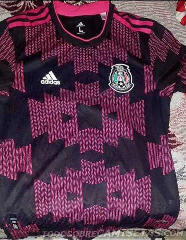 2020 Mexico Home Jersey Leaks And It's Bringing The Pink