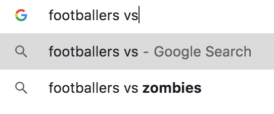 Most Disturbing Soccer Searches