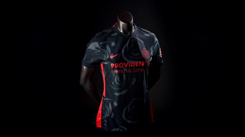 Portland Thorns Jersey 2020 Dark Rose