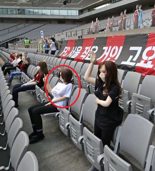 The18FC Seoul Apologizes For Populating Stands With Sex Dolls