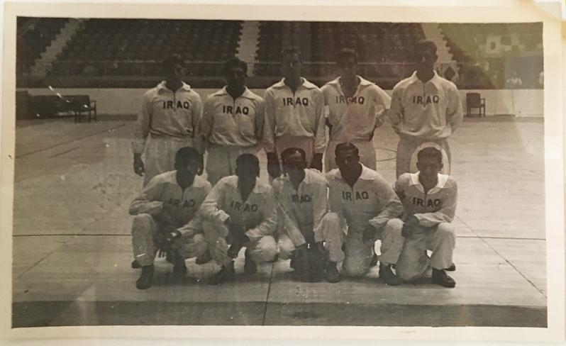 Echipa de baschet irakiană
