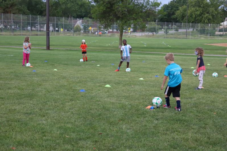 Sanneh Foundation Soccer Camp