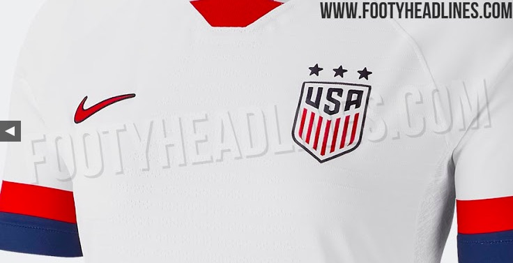 huge selection of 0170e c01a5 The 2019 USWNT World Cup Jersey Has Leaked