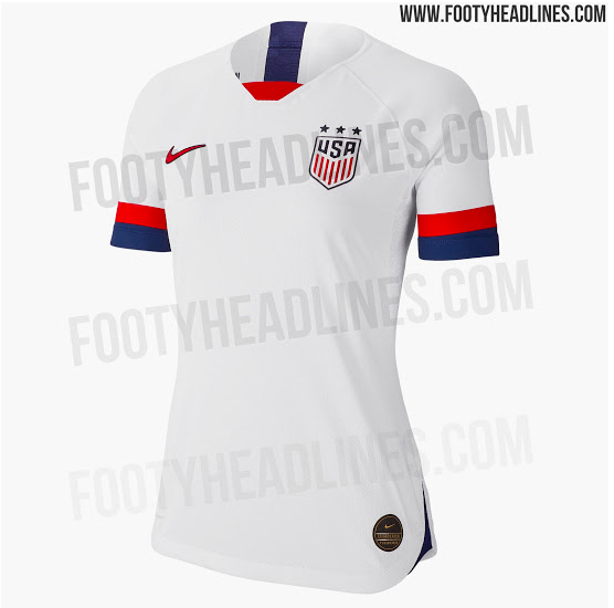 huge selection of a1c8a d8a24 The 2019 USWNT World Cup Jersey Has Leaked