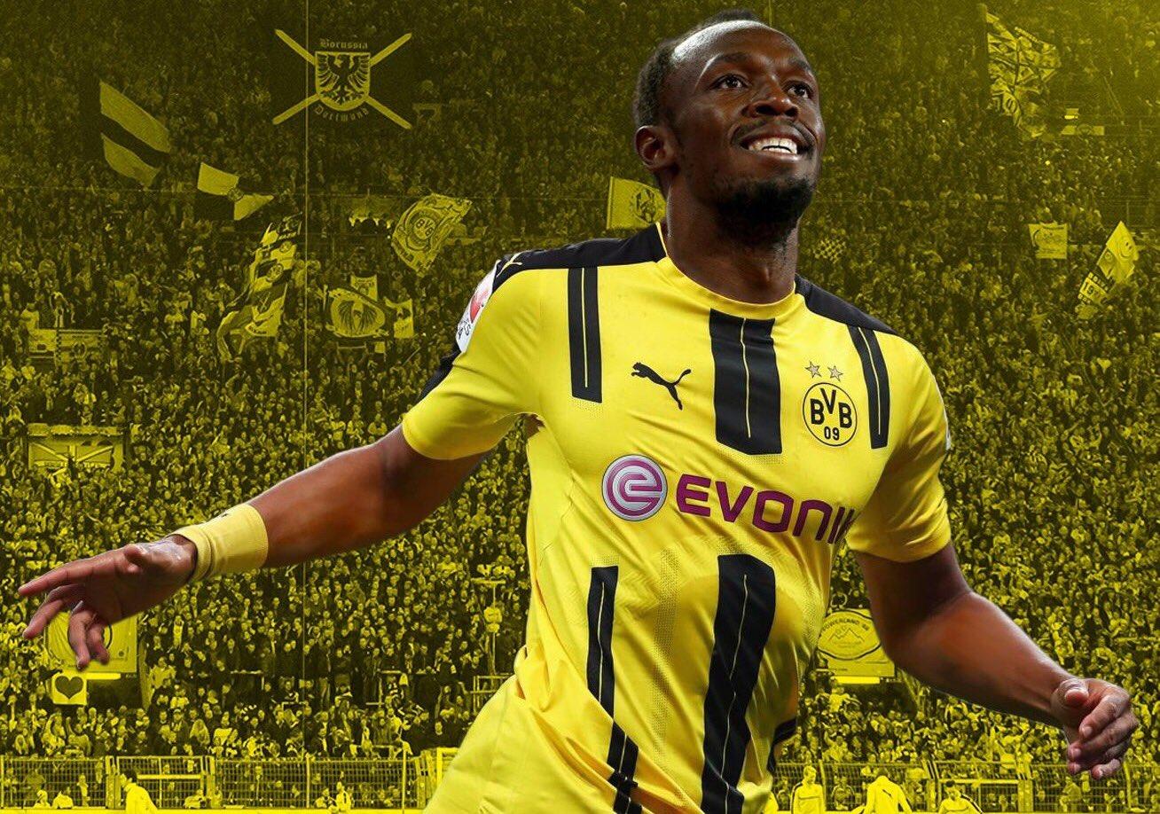Usain Bolt Dortmund