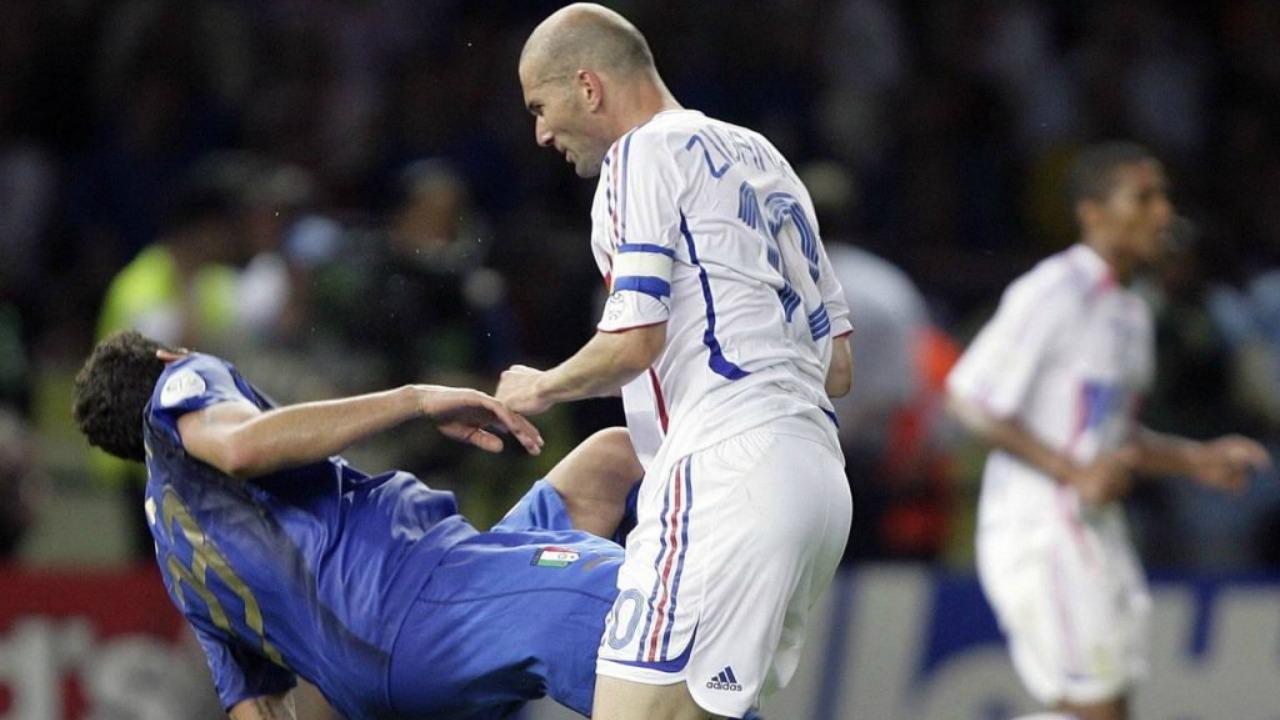 Marco Materazzi Is Still Trolling Zinedine Zidane
