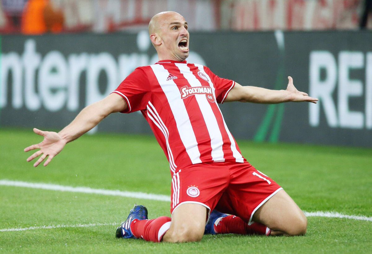Image result for Cambiasso Olympiakos  2017.
