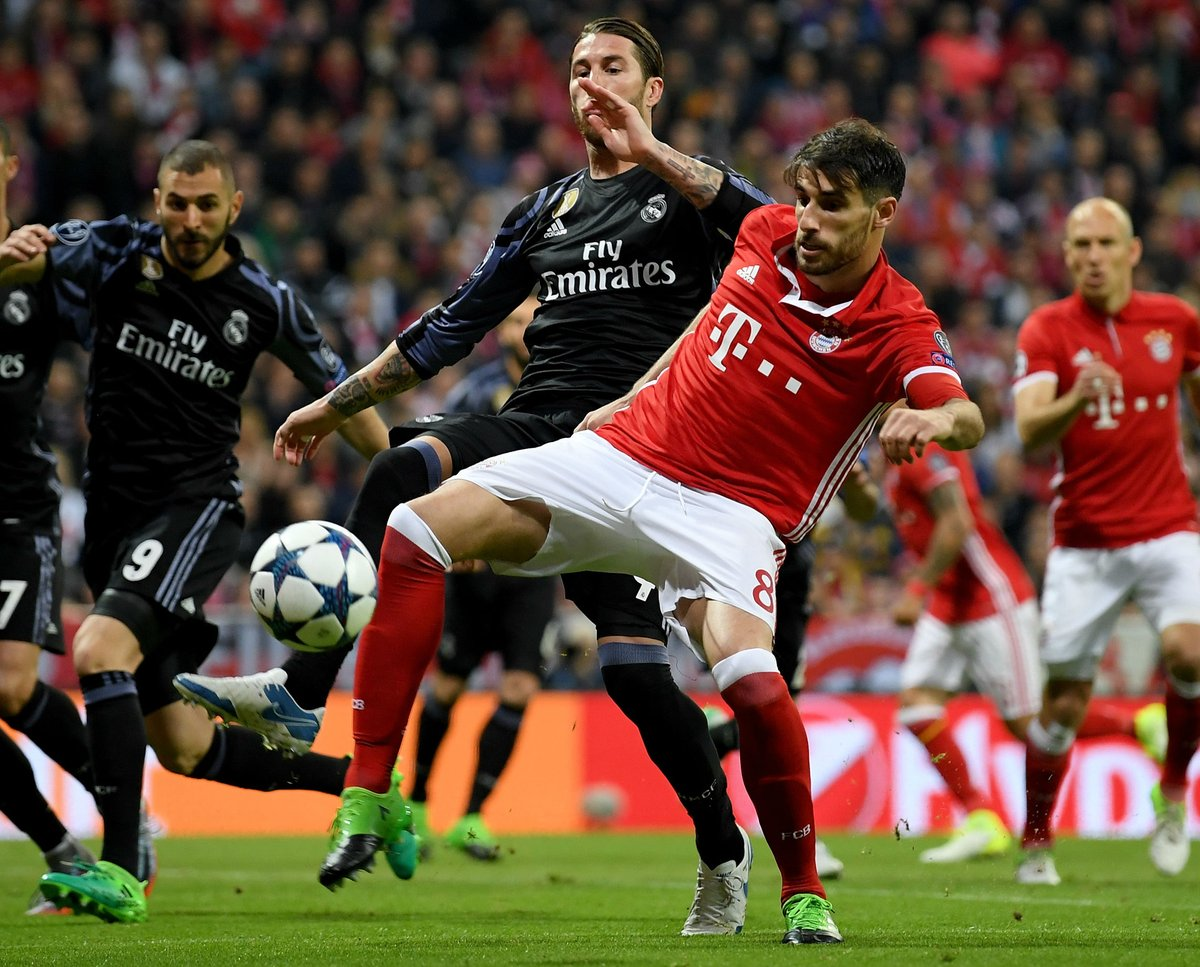 Real Madrid Take A 2 1 Lead Back Home After Bayern s Mistakes