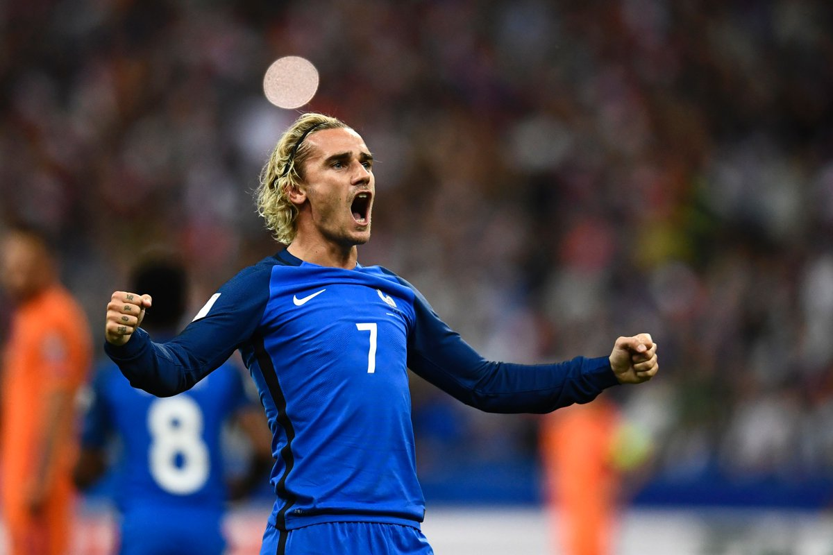 France defeats netherlands 4 0 - Antoine griezmann ...