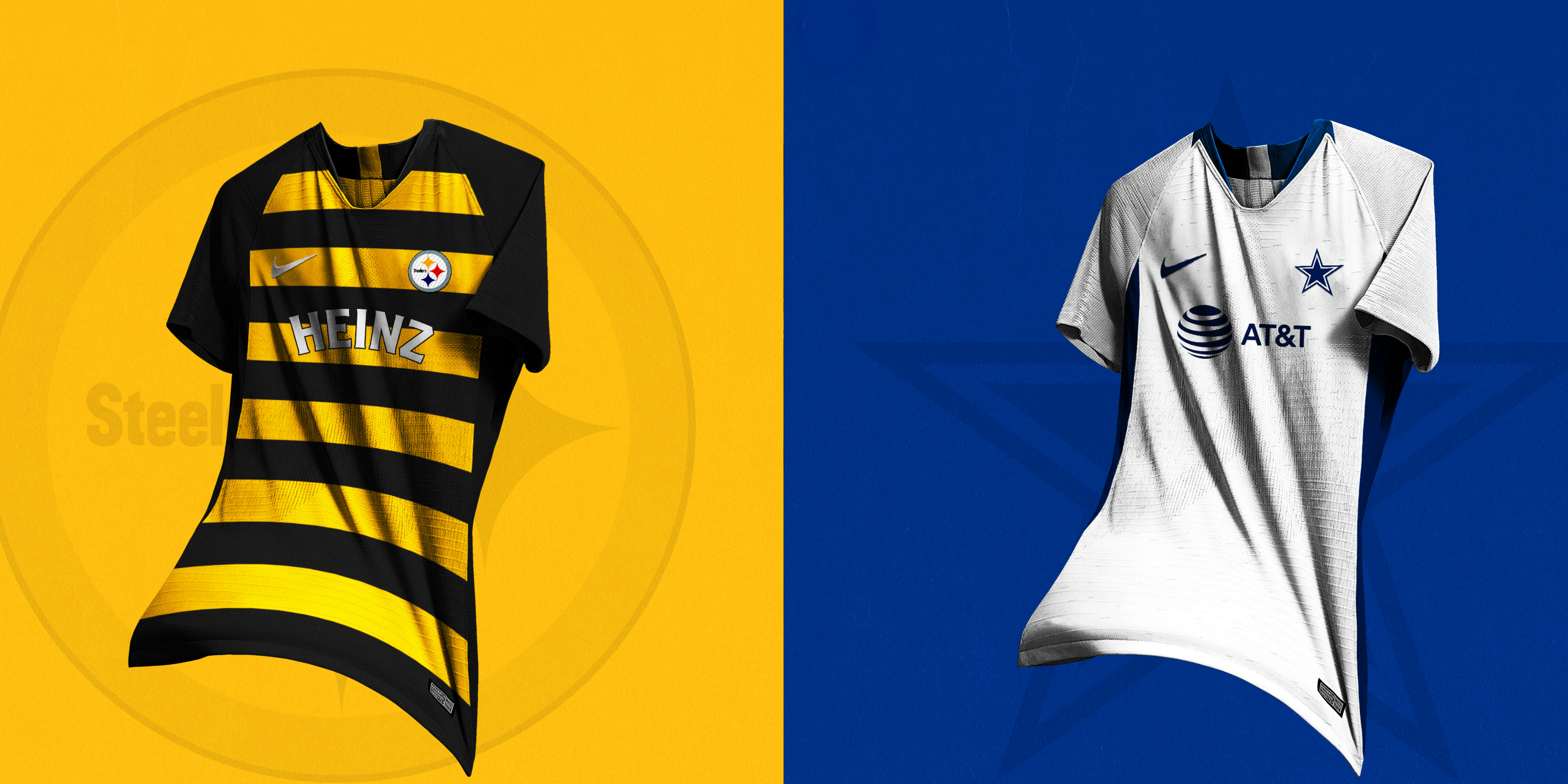 c6e8dac9930 What If NFL Teams Had Soccer Jerseys? We Designed Kits For All 32 Teams
