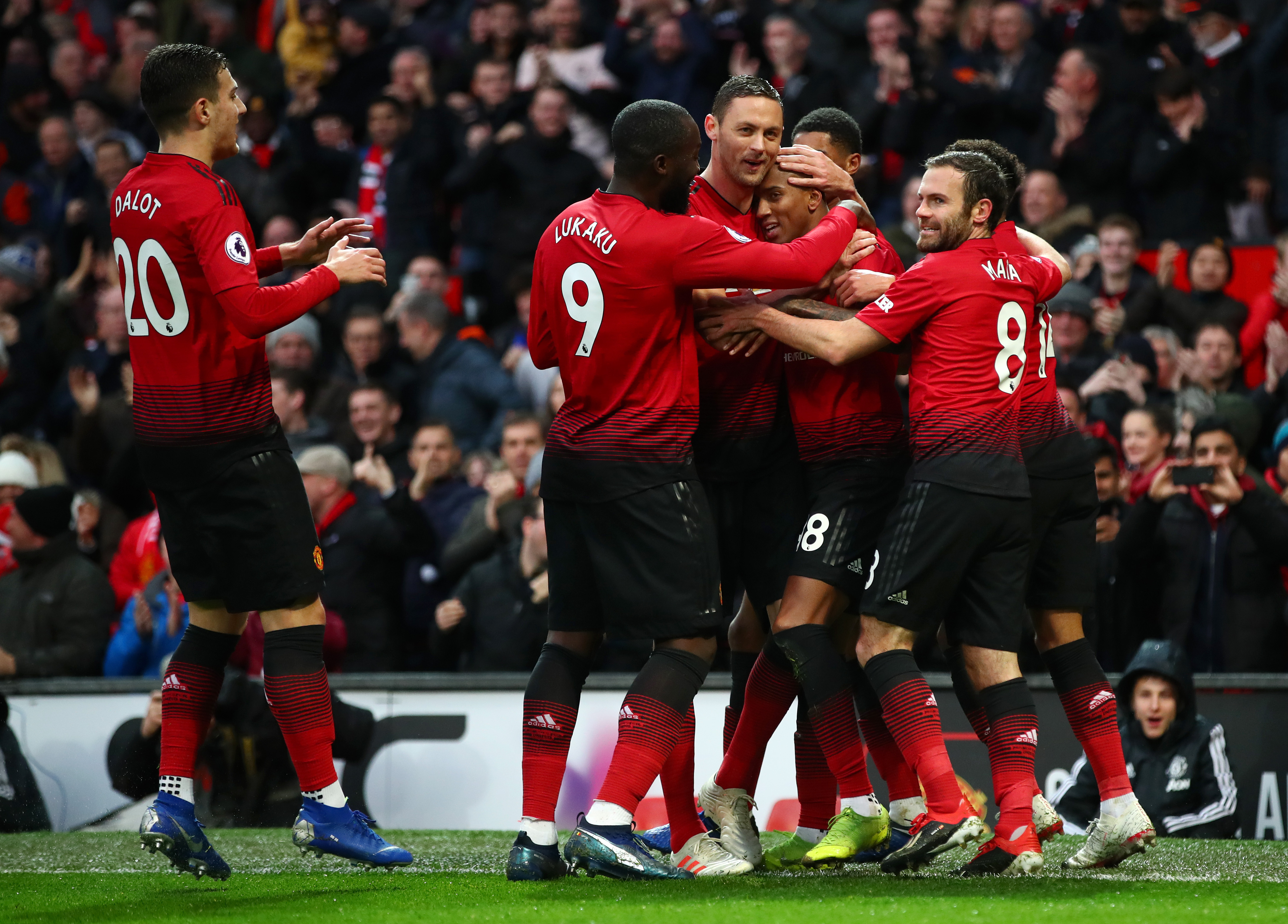 Man U Vs Fulham: Man U Vs Fulham Highlights: Red Devils Thrilling In Attack