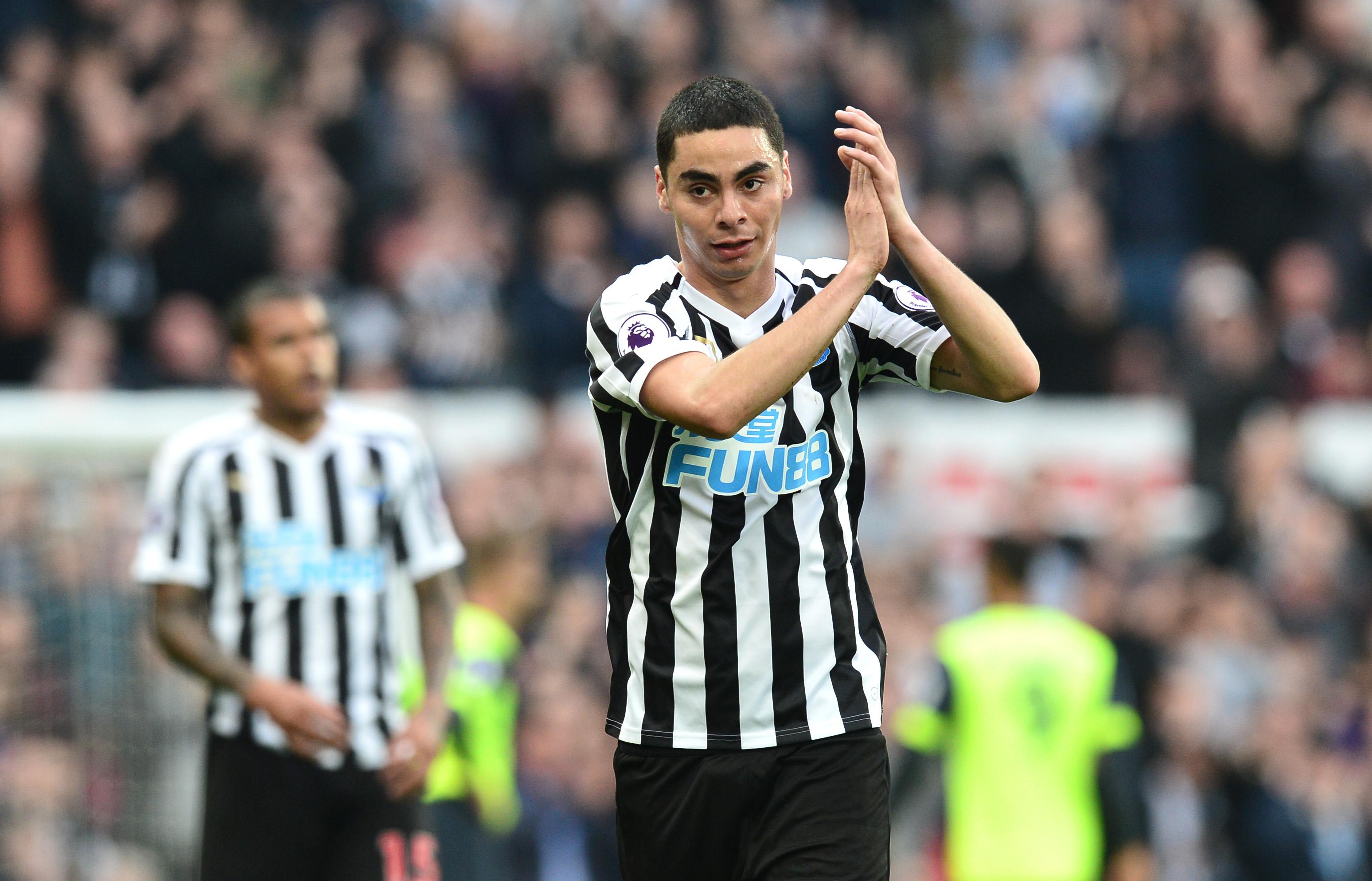 Impressive 1st Newcastle Start For Miguel Almiron Vs