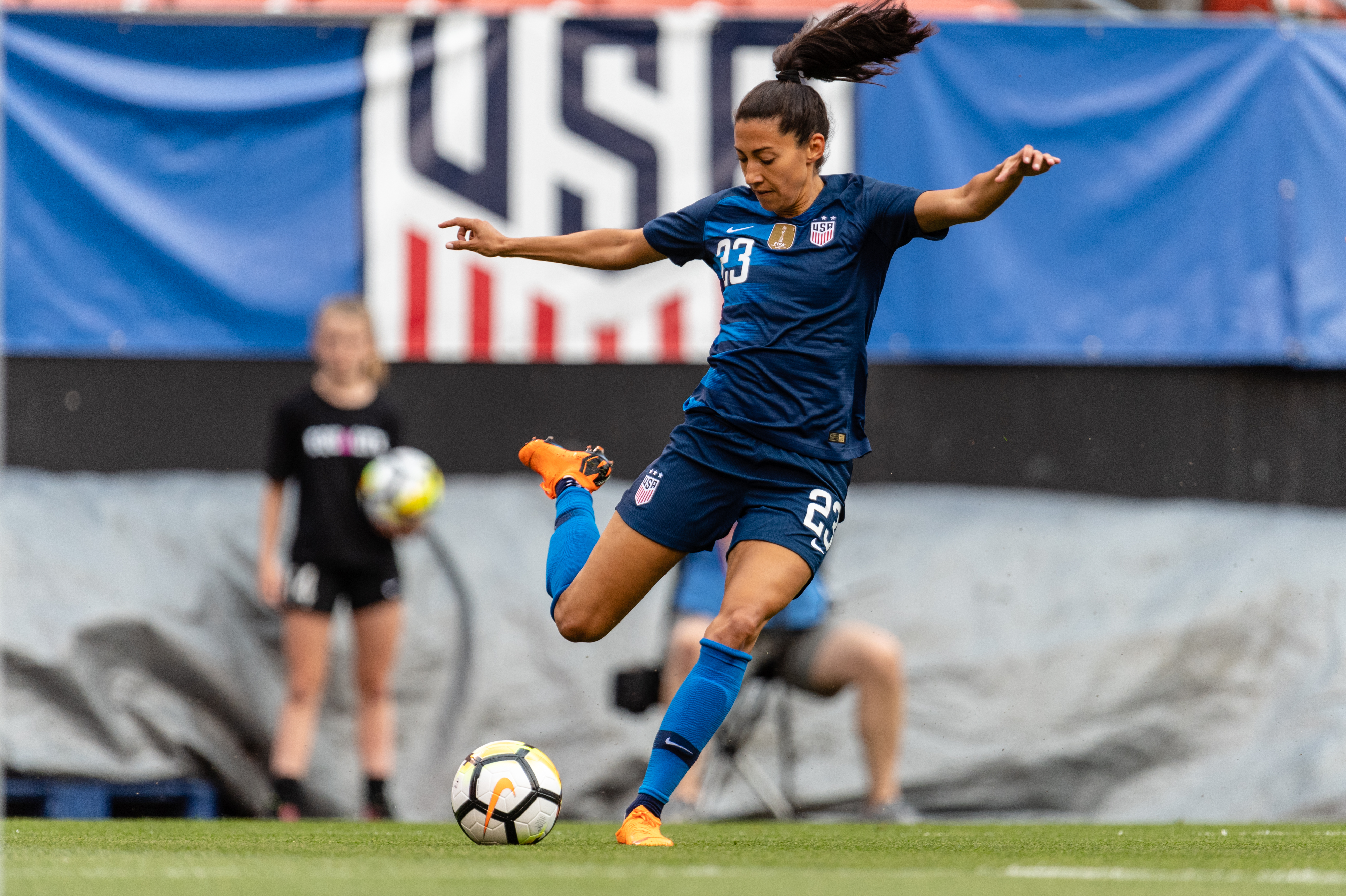 For Christen Press Yoga Is More Than A Workout