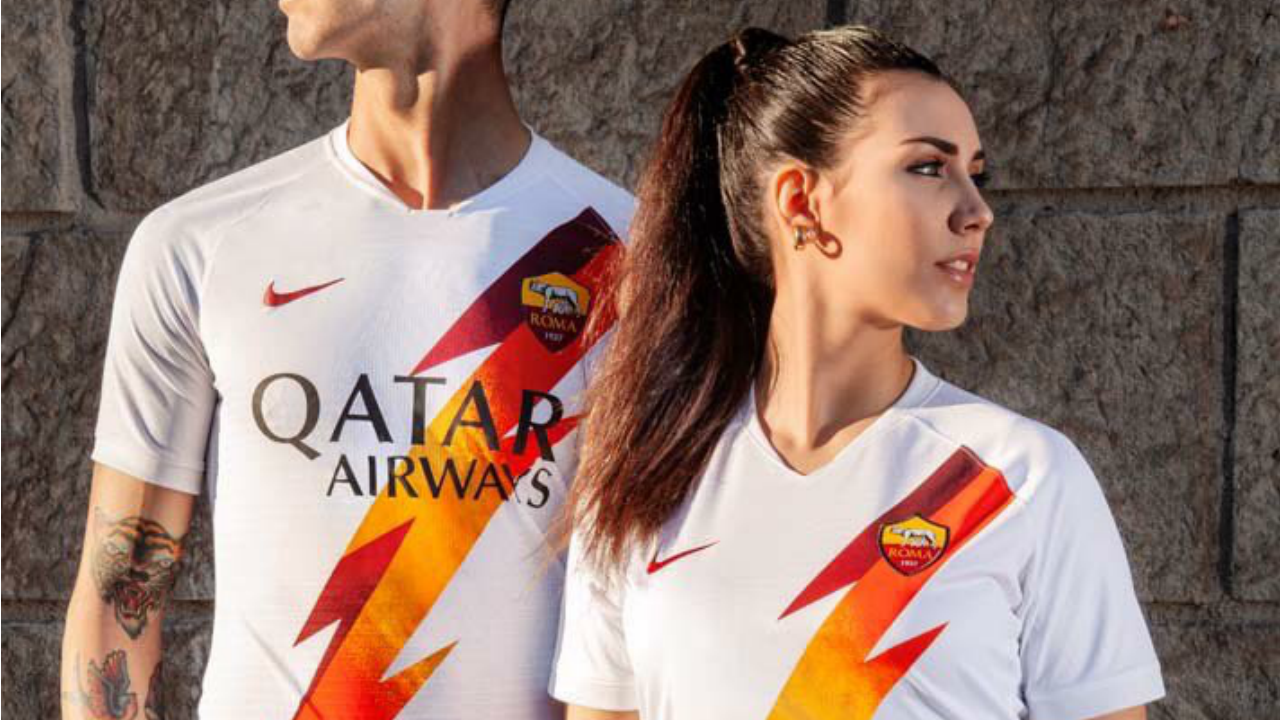 This Is AS Roma's New Away Jersey, And It's The Best There Is