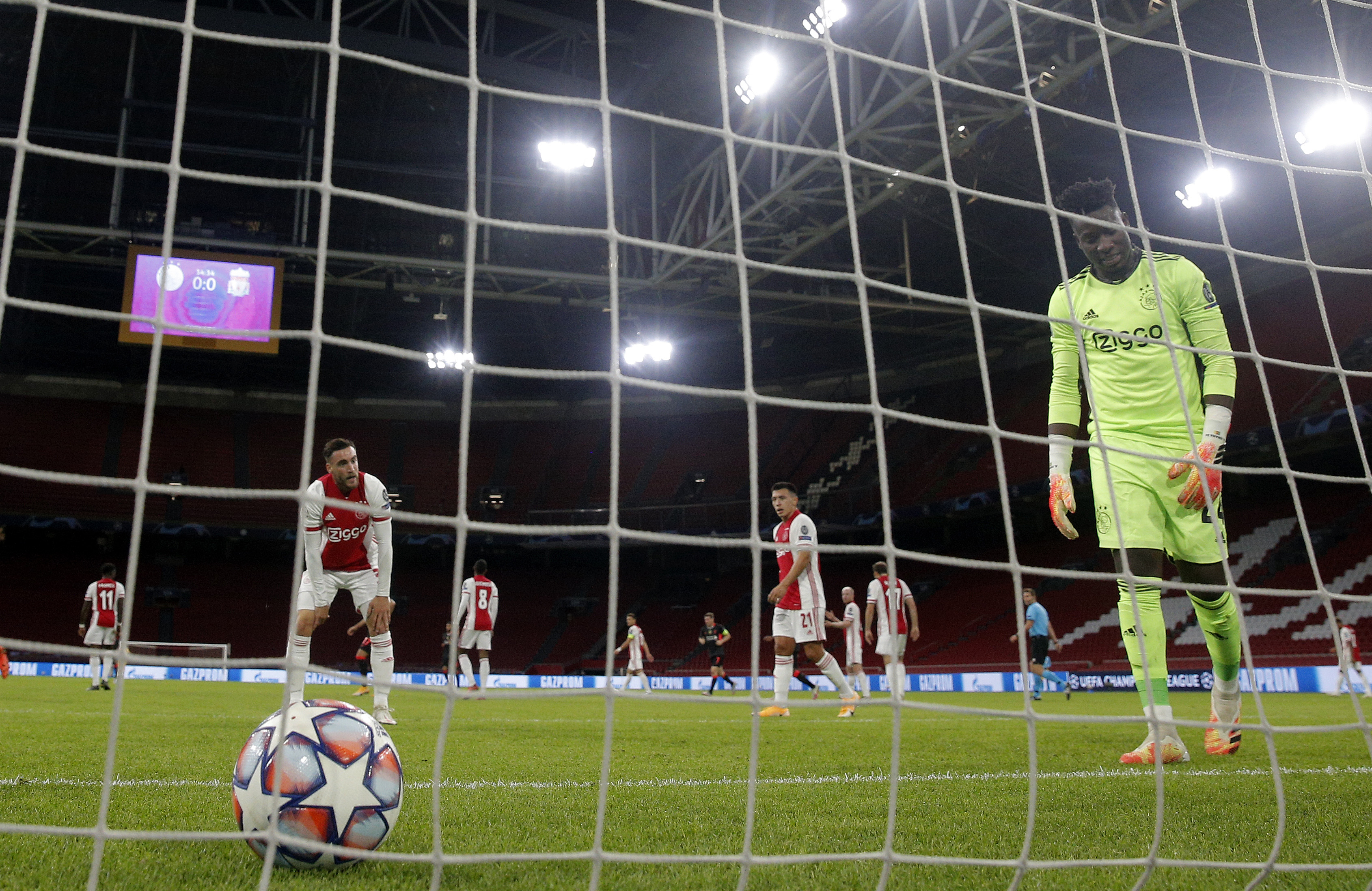 Watch: Ajax Own Goal vs Liverpool Costly In 1-0 Defeaet