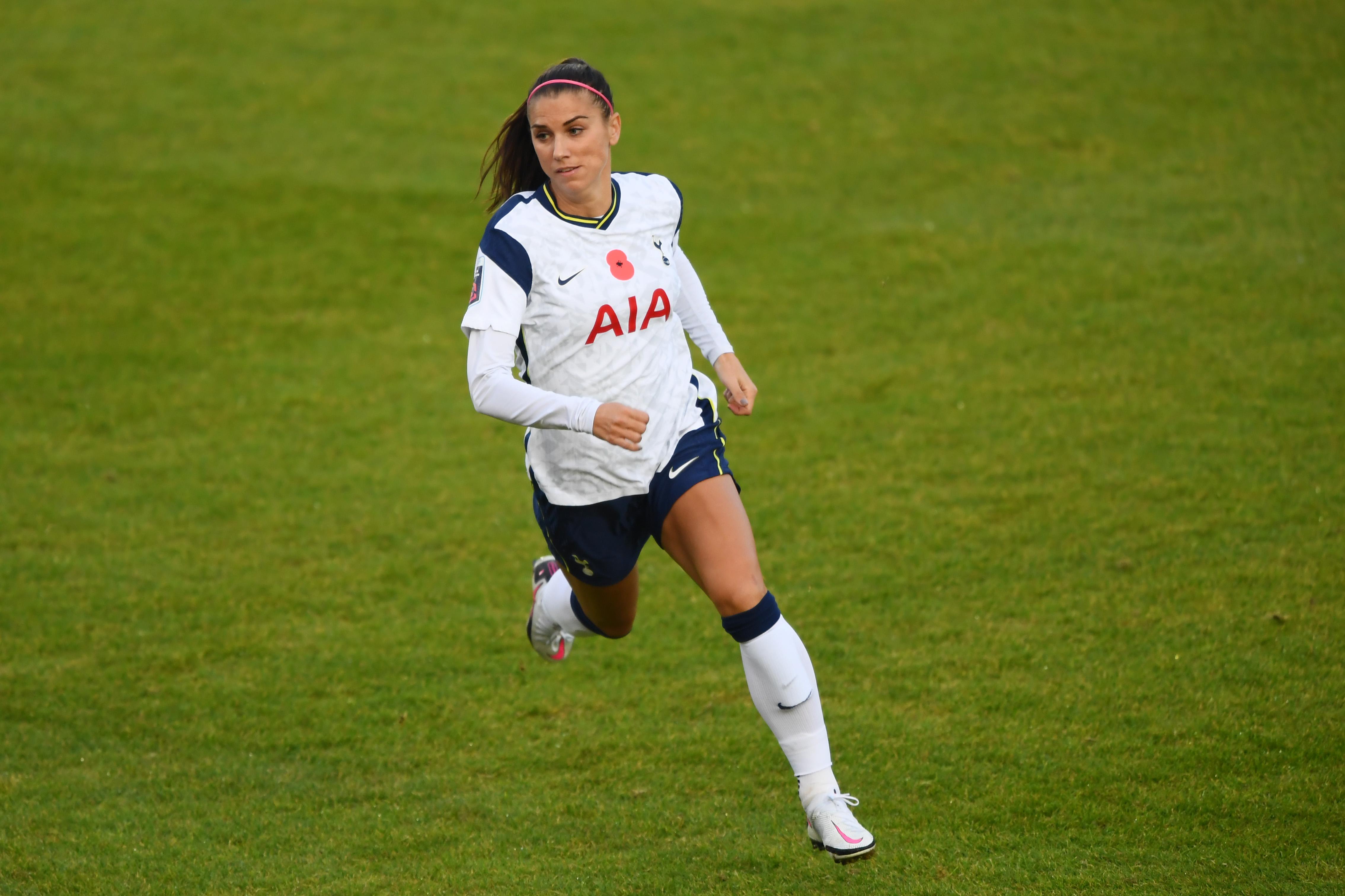 Alex Morgan Tottenham Debut Finally Arrives