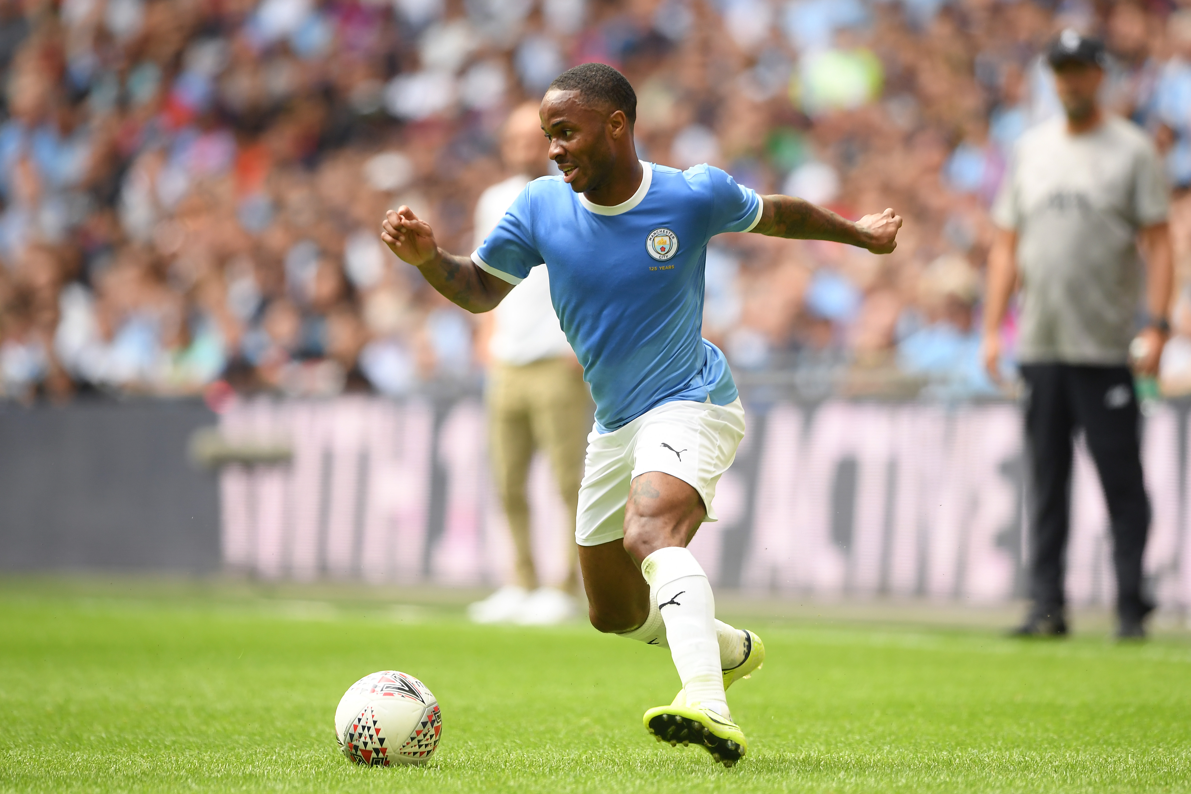 Raheem Sterling Considers Deal That Will Make Him The Face Of Air Jordan's New Soccer Fashion Line