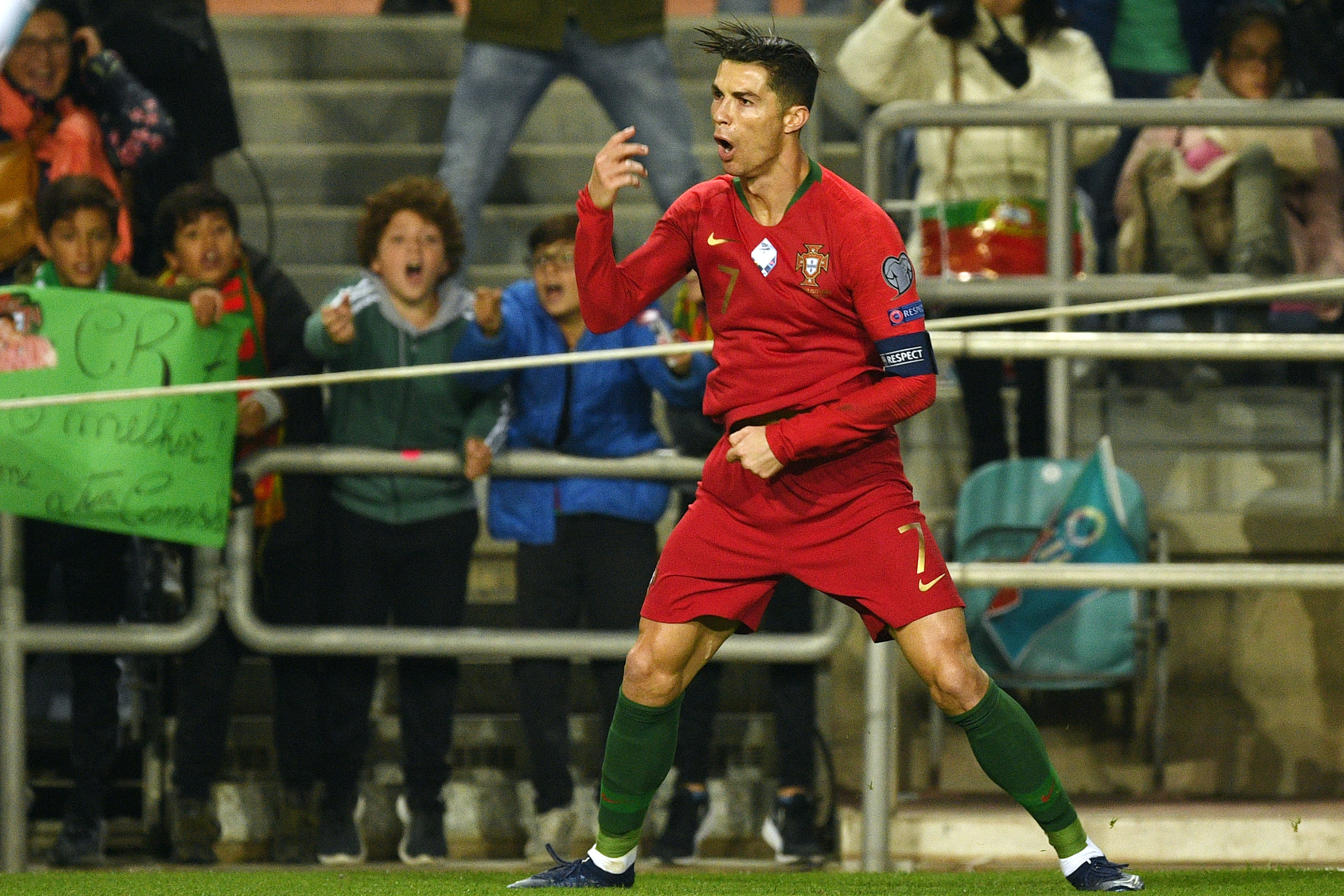 Cristiano Ronaldo Portugal Goals Total Reaches 98 After Hat Trick