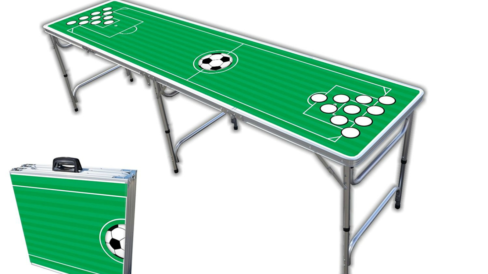 Last Minute Soccer Gifts Amazon Prime: Soccer Beer Pong Table