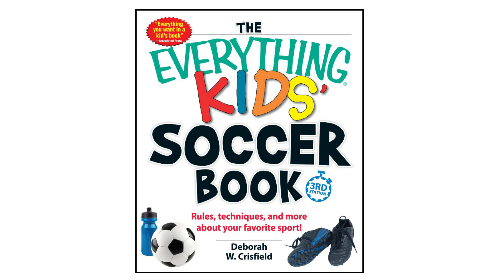 Last Minute Soccer Gifts Amazon Prime: Everything Kids' Soccer Book