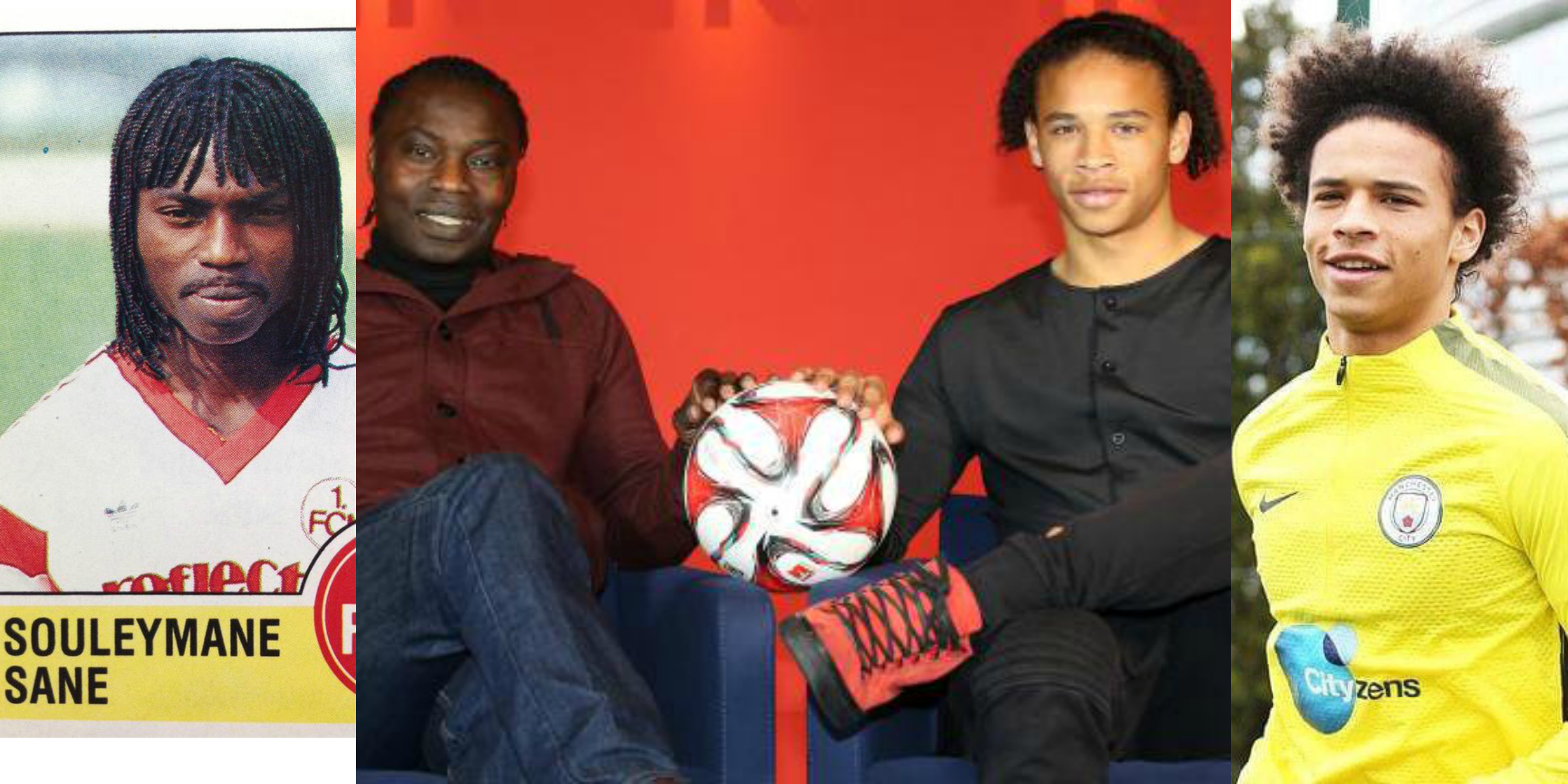 Souleymane Sane and Leroy Sane