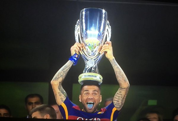 Soccer Players With Most Trophies - Dani Alves