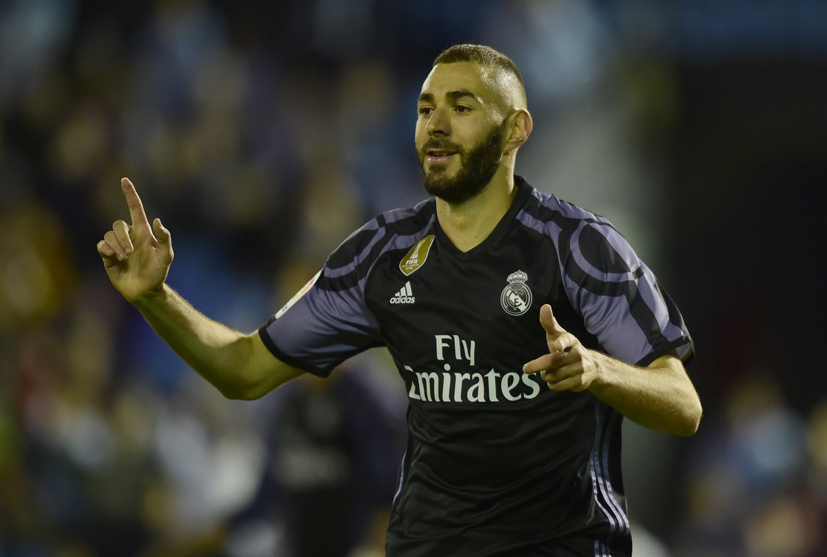 Footballers With The Most Social Media Followers - Karim Benzema