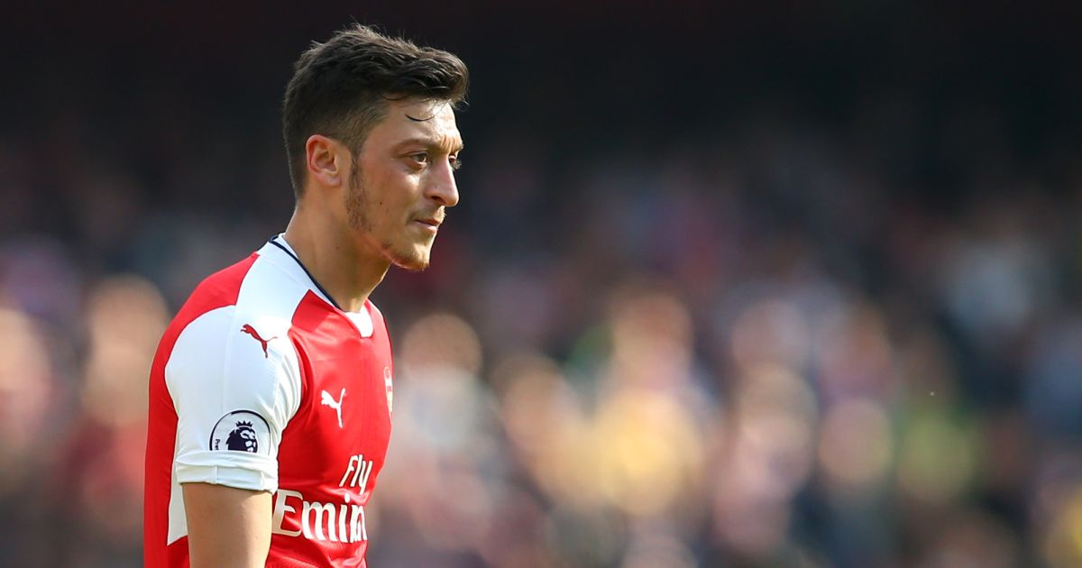 Footballers With The Most Social Media Followers - Mesut Ozil