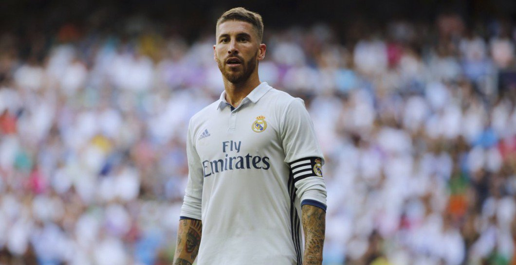 Footballers With The Most Social Media Followers - Sergio Ramos