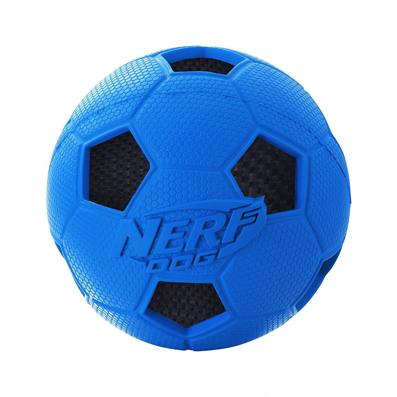 Best Soccer Gifts Online - Nerf Dog Soccer Crunch Ball