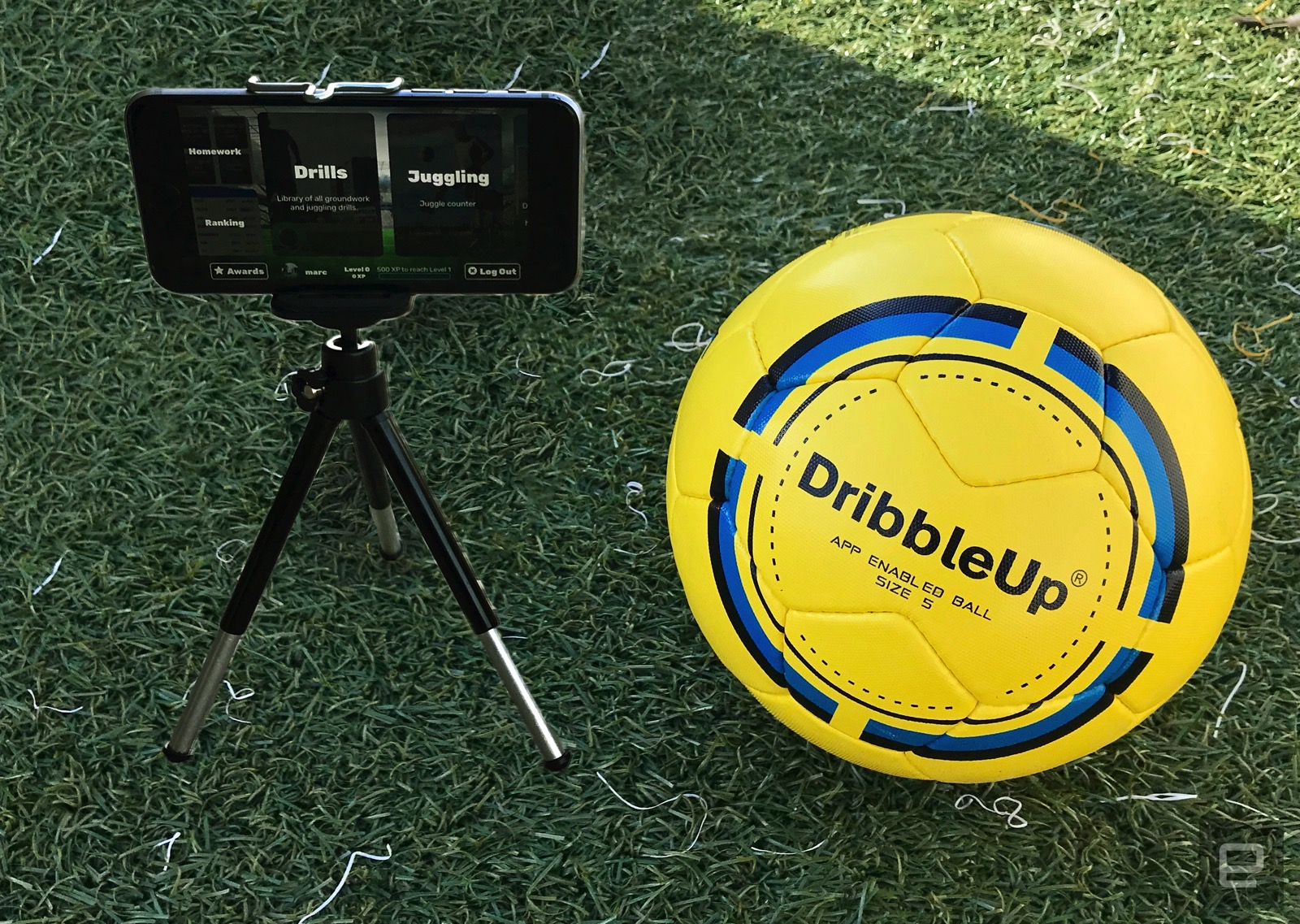 Best Gifts For Soccer Players - DribbleUp App Connected Soccer Ball
