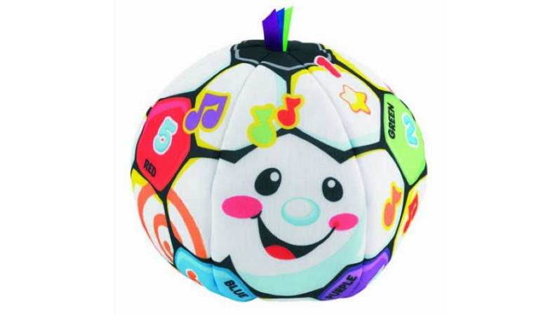 Best Soccer Gifts For Kids - Fisher-Price Laugh & Learn Singin Soccer Ball