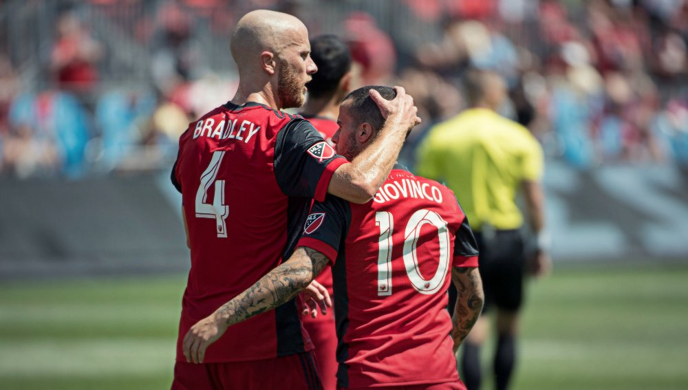 Michael Bradley and Sebastian Giovinco