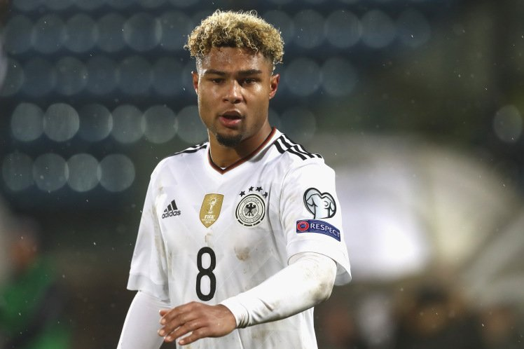 Common Goal players: Serge Gnabry