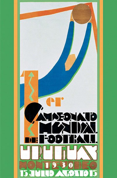 1930 World Cup poster
