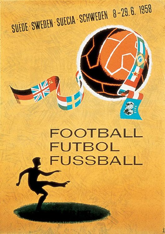 1958 World Cup poster