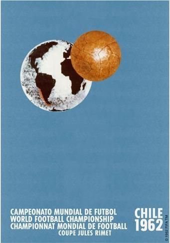 1962 World Cup poster