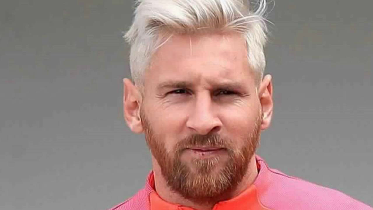 Messi Photos - Blond Messi