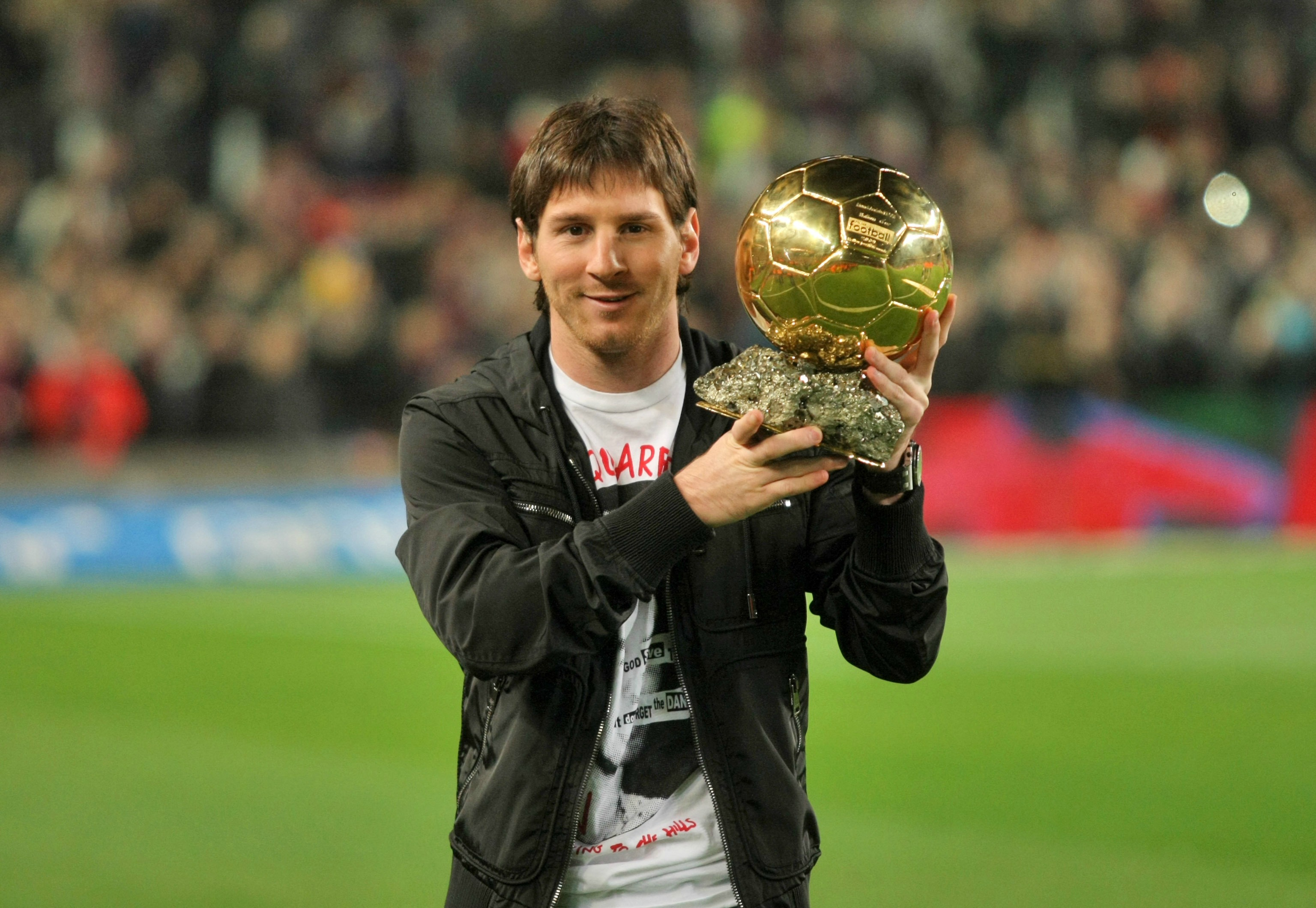 Messi Photos - 2012 Golden Ball