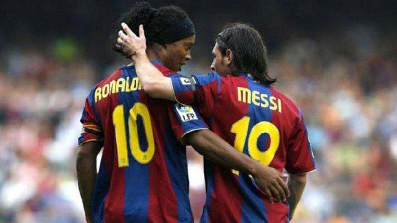 Messi Photos - Messi & Ronaldinho