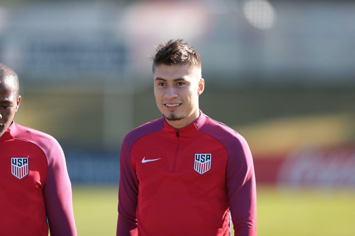 Jorge Villafana USMNT training camp