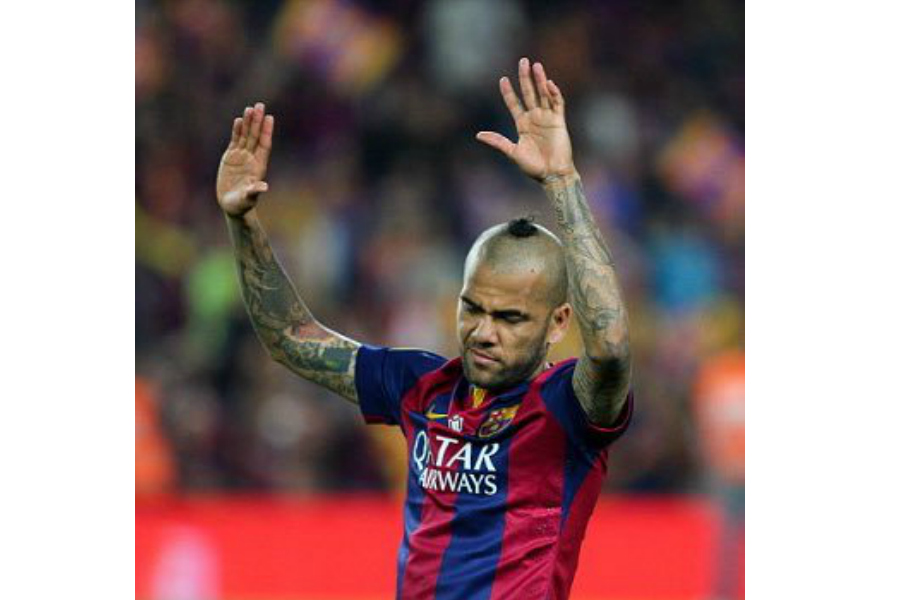 Dani Alves Hair