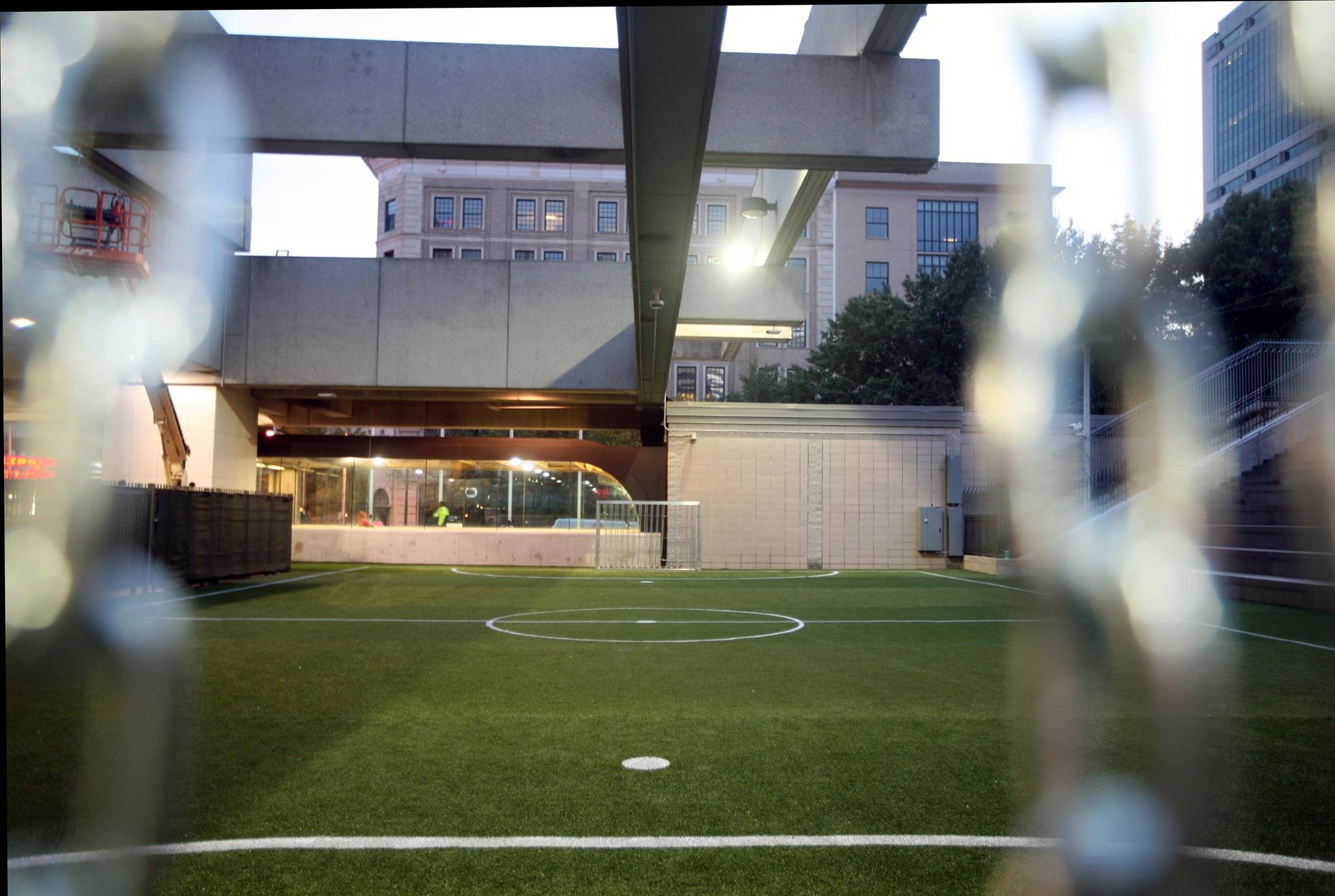 Station Soccer Field View