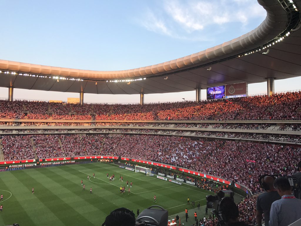 Estadio Chivas in action