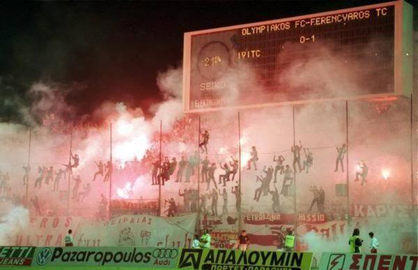 Olympiakos supporters