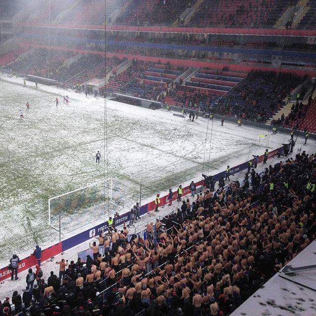 CSKA Moscow supporters